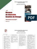 B. Normas de Atencion Gestion de Riesgo