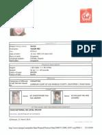 Yu Xin Mei Wang or Yuxin Mei Wang Interpol Red Notice for KIDNAPPING