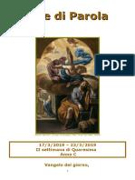 Sete di Parola - II settimana di Quaresima - Anno C.doc