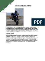 Aprender Como Hacer Caballitos en Moto