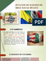 Exportación de banano de Colombia hacia México.pptx