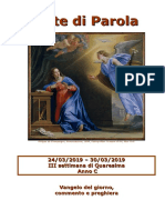 Sete di Parola - III Settimana di Quaresima, anno C.doc