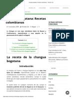 Changua Bogotana Recetas Colombianas