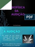 Biofísica Da Audição