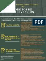 Cartel Del Servicio de Asistencia Técnica a La Escuela Sate MIZS