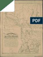 Carta Da Provincia de Matto Grosso e Parte Das Confrontantes e Estados Limitrophes