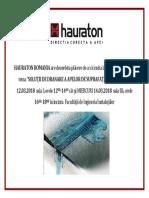 Invitatie Seminar Hauraton