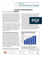 Additional Funds for Summer Youth Employment but Uncertainties Remain Fopb March 2019