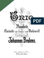 Brahms Trio Op. 114