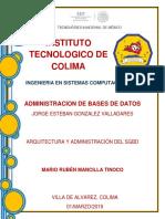 Unidad 2 - Arquitectura y administración del SGBD.docx