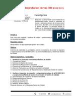 Curso ISO 9001-2015