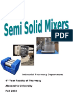 Industrial Semi-Solid Mixers