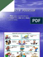 Ladjectif Possessif Powerpoint Pt Inspectie