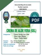 Proyecto2 Crema de Aloe Vera