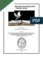 DAFTAR BACAAN GMIT TAHUN 2019.doc