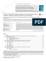 A Review of Anaerobic Membrane Bioreactors for Municipal Wastewater Treatment_ Integration Options, Limitations and Expectations