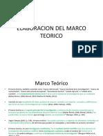 4. Elaboracion Del Marco Teorico