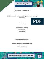 Evidencia 1 Taller Generalidades de la gestión del talento humano y subprocesos.docx