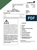 Allweiler Screw Pumps AEB GB