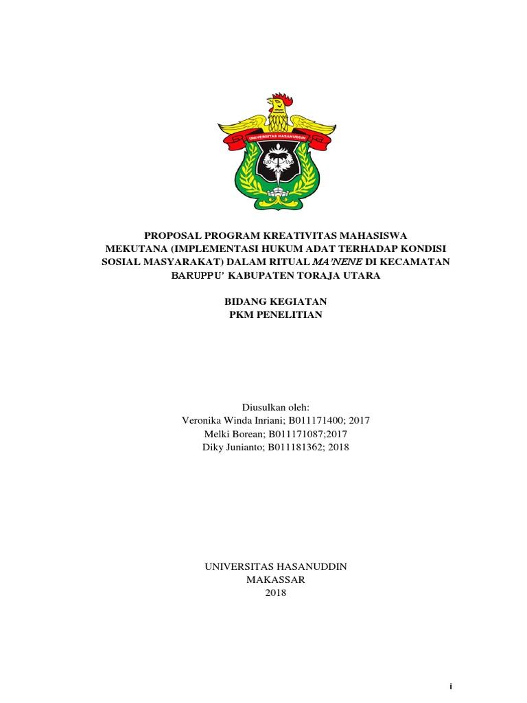 Veronika Pkm Psh Fakultas Hukum Pdf