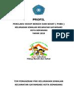 PROFIL PHBS KELURAHAN SIWALAN TAHUN 2018.docx