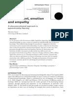 Empatía y corporeidad