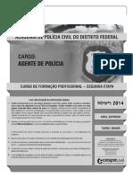 Prova 2a Fase Pcdf - Agente 2013