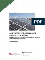 Contrato Tipo de Suministro de Energia GIZ 20151
