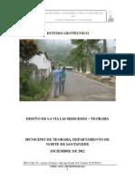 Anexo 18-1 Investigación Geotécnica