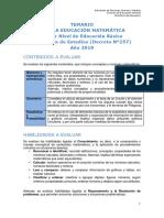 Temario Matematica Nb3 Ve 2019