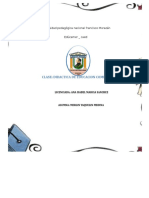 Formato Plan de Clase Diario MMM