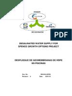 01.- Despliegue de Geomemebranas HDPE Rev A