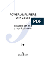 Power Amplifiers With Valves