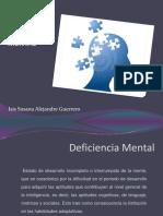 Deficiencia Mental