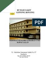 Buku Pedoman Pengorganisasian Rawat Jalan 18 Maret 2015