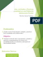Conocimientos, Actitudes y Prácticas sobre la Sexualidad.pptx