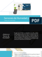 Sensores de Humedad y PH