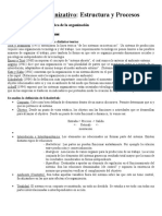 resumen derecho organizativo estructuras y procesos