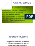 TECNOLOGIA EDUCATIVA.ppt