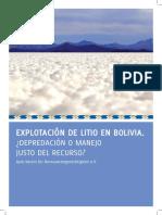 Litio Bolivia