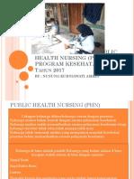Evaluasi Program Phn Dan Program Kesehatan Jiwa