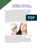 Seguridad Informática, un reto para la Ingeniería del Software o una necesidad