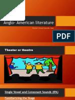 Anglo- American Literature