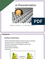 Syahrul SSKM 3-Surface Characterization