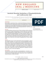 Intestinal Microbial Metabolism of Phosphatidylcholine and Cardiovascular Risk