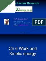 Ch6-Work & K.E