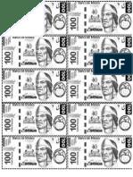 billetes y monedas preescolar