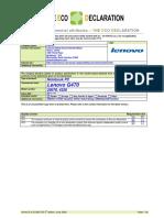 lenovo g470 datasheet