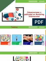 Comunicaciones y Publicidad en El Marketing