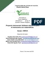 Proyecto Transversal Memorama